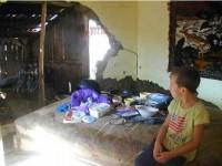 După dezastru, la Țibeni