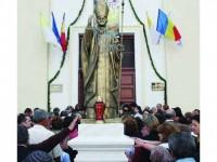 Ioan Paul al II-lea binecuvântează Suceava