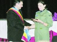 Ancuța Maierean a devenit cetățean de onoare al comunei natale, Comănești