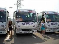 Transport gratuit, cu autocare de patru stele