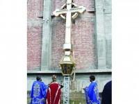 A fost sfințită ultima Cruce aurită