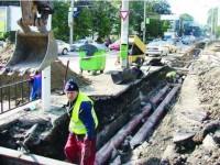 Primăria Sucevei sistează lucrările de înlocuire a magistralelor de termoficare