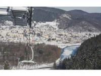 Liber la schi pe pârtia de la Gura Humorului