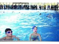 Liber la piscinele cu apă încălzită !