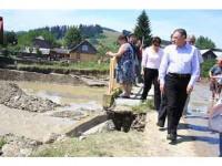 Radu Berceanu, pe drumurile (distruse) ale județului