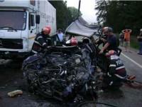 Trei vieți secerate pe DN 17, într-un cumplit accident de circulație