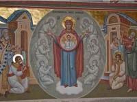 Scurt istoric al picturii bisericii Mănăstirii Putna