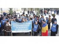Pensionarii militari suceveni au pledat pentru solidaritate împotriva recalculării pensiilor