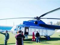 Platformă de aterizare a elicopterelor medicale