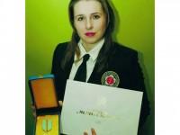 "Diana Enea a primit medalia ""Meritul Sportiv"", clasa I"
