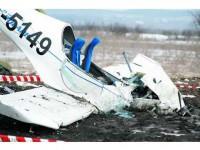 S-a prăbușit cu avionul