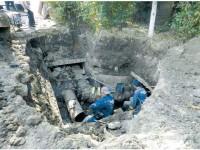 Mii de suceveni din Obcini, fără apă caldă din cauza unei conducte care a cedat