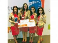 Medalie de argint pentru înghețata TopIce, la etapa internațională a competiției Ecotrophelia, de la Paris