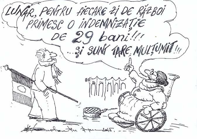 Caricatură de Constantin Papuc